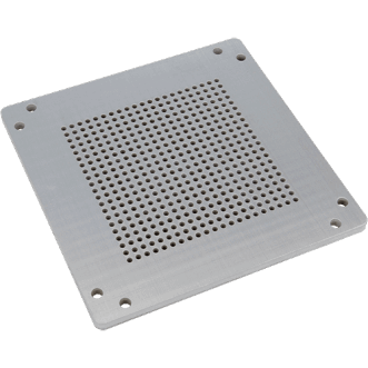 EMP ventilation panels | Drilled ventilation panels for EMP applications