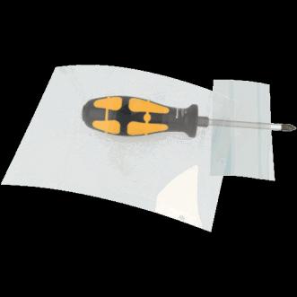 Película protectora transparente