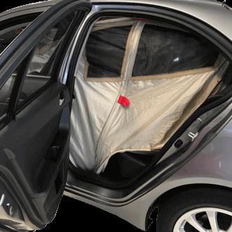 Blindaje del automóvil (también para los jammers)