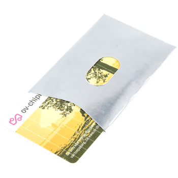 RFID card shielding single