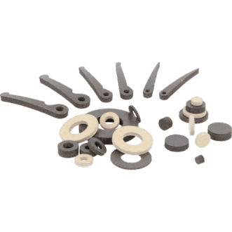 Conductive washer, cylinder and springs