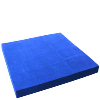 PU foam based flat absorbers