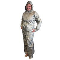 Electromagnetic radiation protective clothing