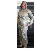 Electromagnetic radiation protective clothing