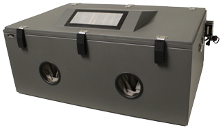 shielding enclosure testing box front view