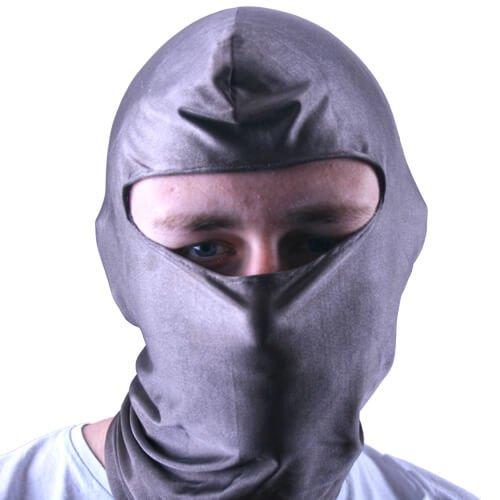 Our shielded balaclavas are made of a conductive stretch fabric making them suitable for any head