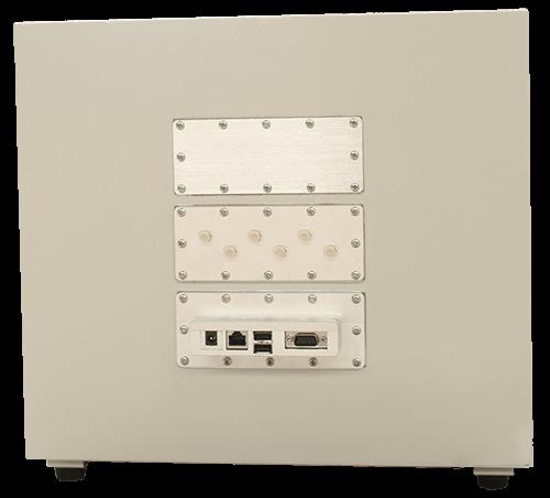 MPSB-35-40-30 Medium ytelse skjermet boks tilbake visning