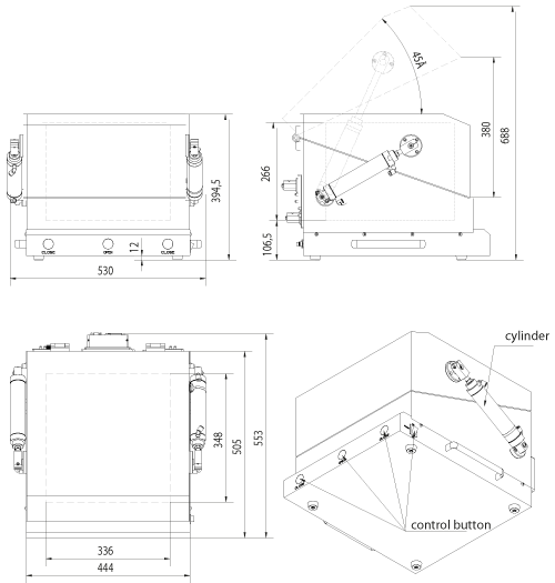 MPSB-43-44-31-C technical drawing