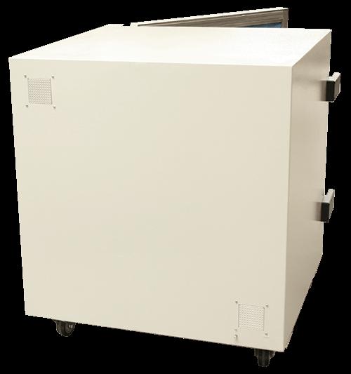 Medium performance shielded box MPSB-70-70-70 back view