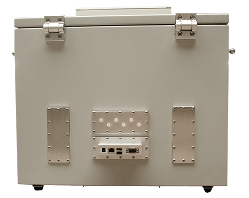 MPSB 50-40-40 Medium performance shielded box back view
