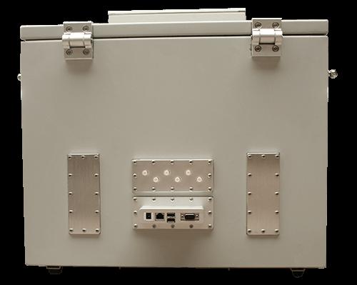 MPSB 50-40-40 Medium performance shielded box back view