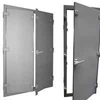 Shielded doors