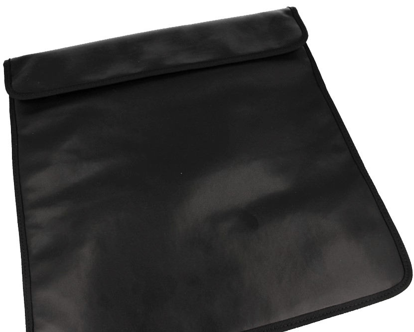 Shielding pouche large closed