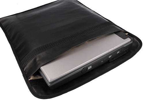 Shielding pouche large for Multiple cell phones, PDAs, Passports, GPS Navigation Units