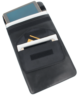 Shielding pouche medium Portable devices – cell phones, pagers, iPhones, Blackberry