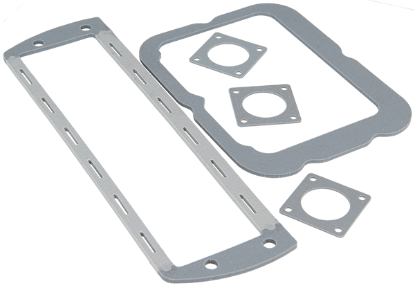 Figure 57.1 : Conductive rubber gaskets can be cut in any shape according to cusomter drawing