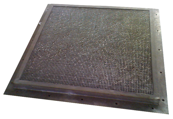 Figure 81.1 : Picture of a EMP proof Honeycomb ventilation panel