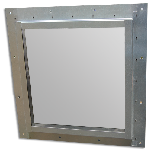 Figure 74.1 : Example of a framed ready to install high performance shielding window