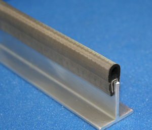 Fully wrapped EMI/RFI shielding gasket