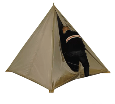 shielded tent example