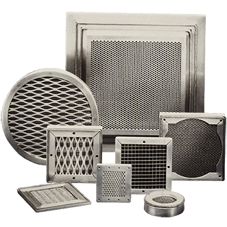 EMI - EMP ventilation and dust panels