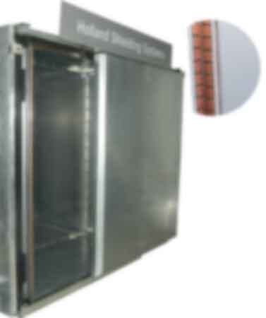 EMI/RFI/EMP Faraday cage doors