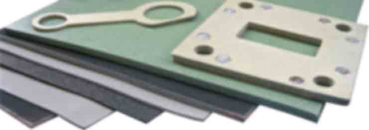 Conductive rubber sheets 5750-S header