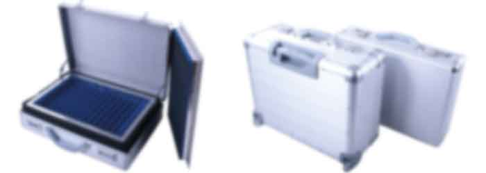 Shielded and sound proof briefcase header