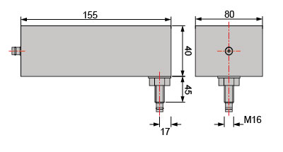 signal line filters technical drawing diagram 2